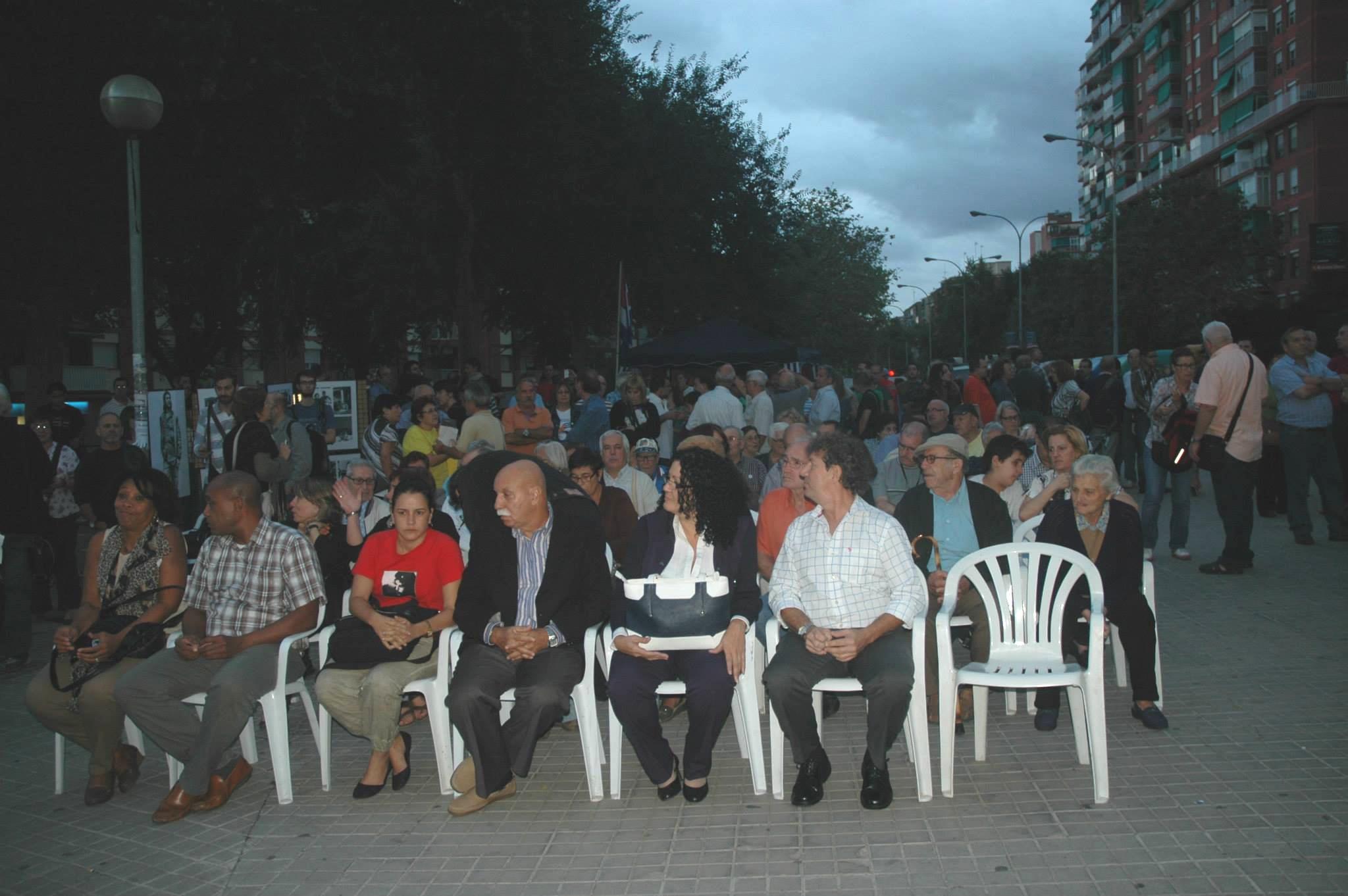 Acte en Homenatge al Che Guevara a Badalona el 8 de octubre de 2013