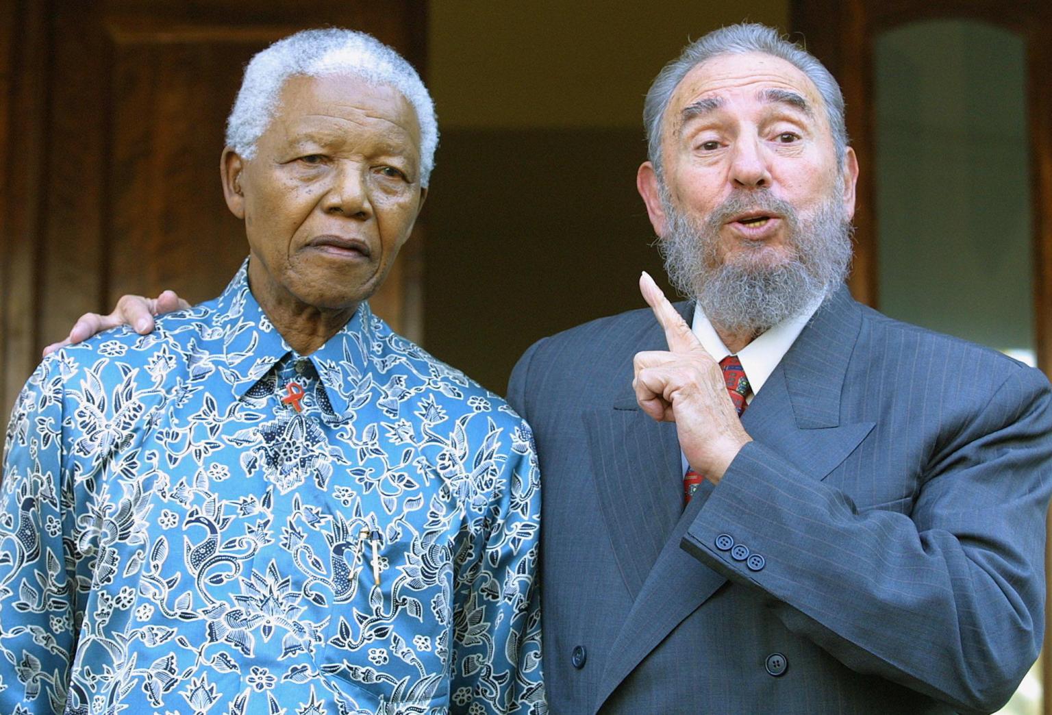 Mor Nelson Mandela, gran líder i amic de cuba
