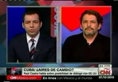 """Edmundo García, a CNN: """"Los grandes medios como CNN responden a los intereses de EEUU contra Cuba"""""""
