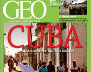 Geo: la revista que sobre Kenia habla de elefantes y sobre Cuba… del fin del comunismo