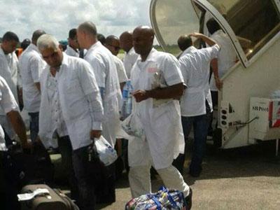 En Sierra Leona brigada médica cubana para combatir el ébola