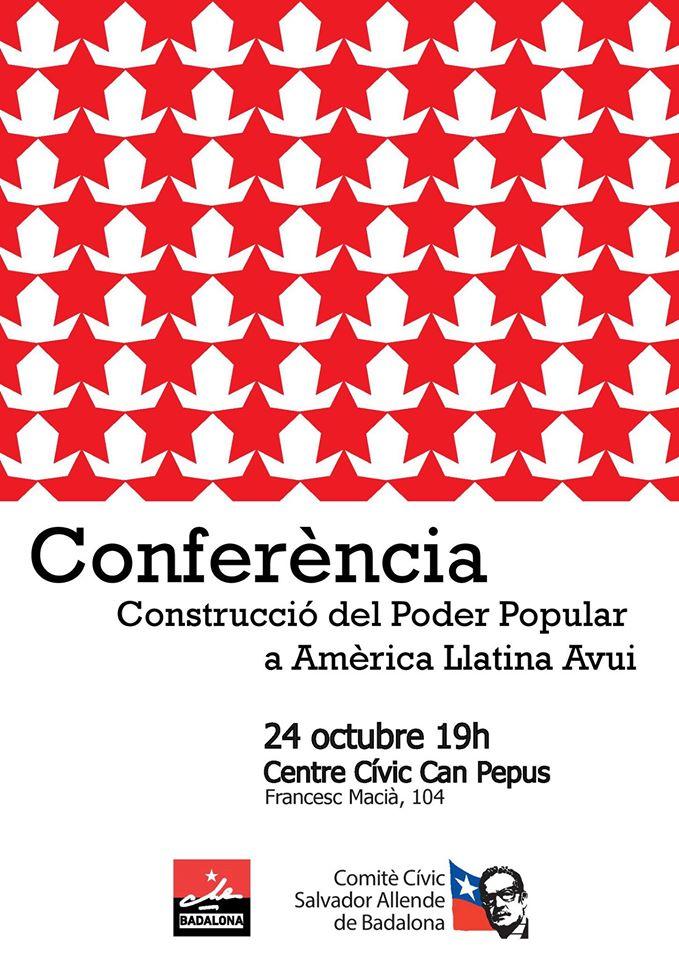 Construcció del Poder Popular a Amèrica Llatina Avui