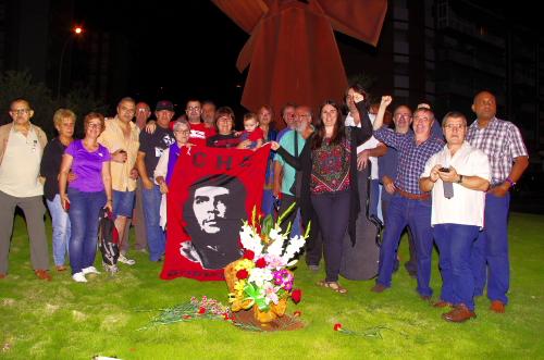 8 de octubre homenaje al Che en Badalona