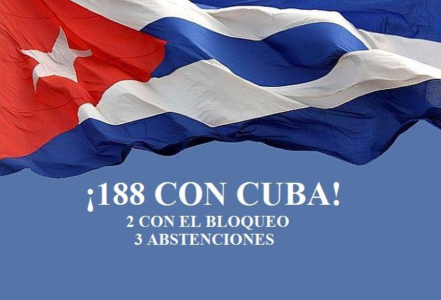 La Comunidad Internacional en pleno exige a EEUU levantar el bloqueo a Cuba