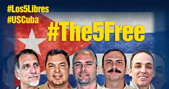 Alocución del Presidente cubano: Los Cinco ya están en Cuba