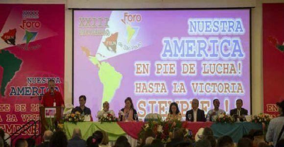 Declaración Final del XXIII Foro de Sao Paulo