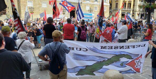 COMUNICAT DE DEFENSEM CUBA DAVANT CAMPANYA DE INGERÈNCIES A CUBA, EN COMMEMORACIÓ DEL 26 DE JULIOL.